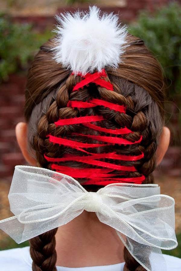 cute hairstyles for christmas Unique Cute Christmas hairstyles for little girls ? charming Photograph