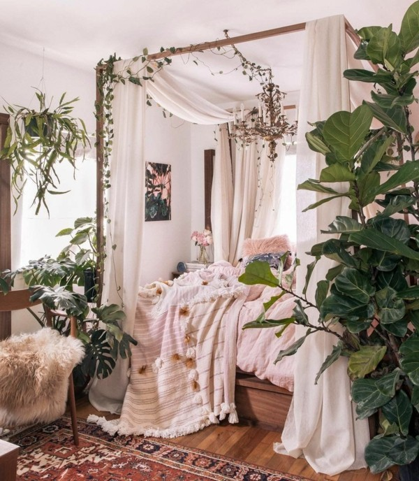 schlafzimmer orientalisch einrichten boho stil