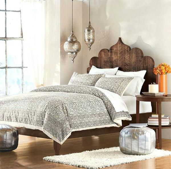 schlafzimmer orientalisch einrichten marokkanischer stil