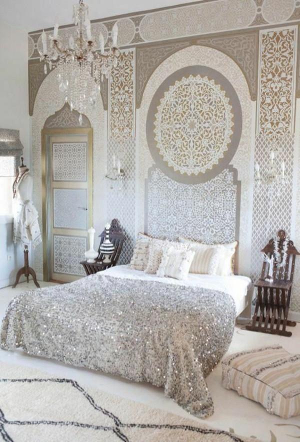 schlafzimmer orientalisch einrichten