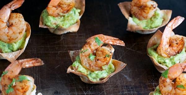 shrimps teig guacamole fingerfood rezepte silvester
