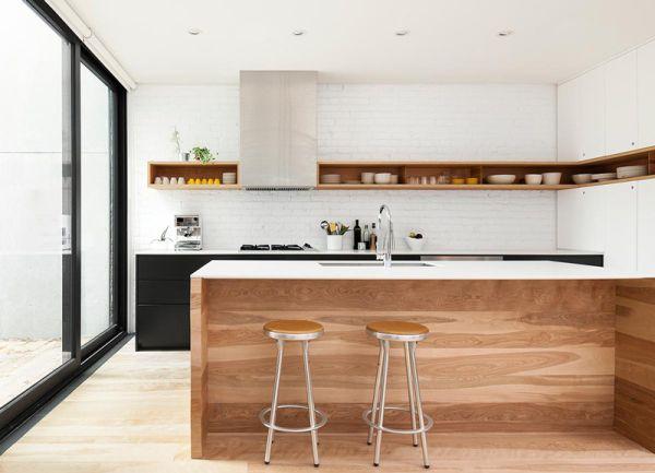 skandinavisch und minimalistisch Küchentrends