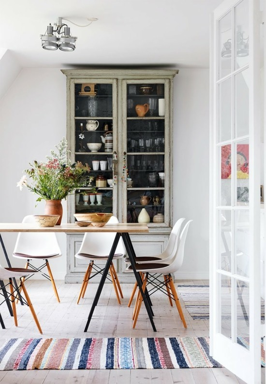 Scandinavian interior design kitchen dining room