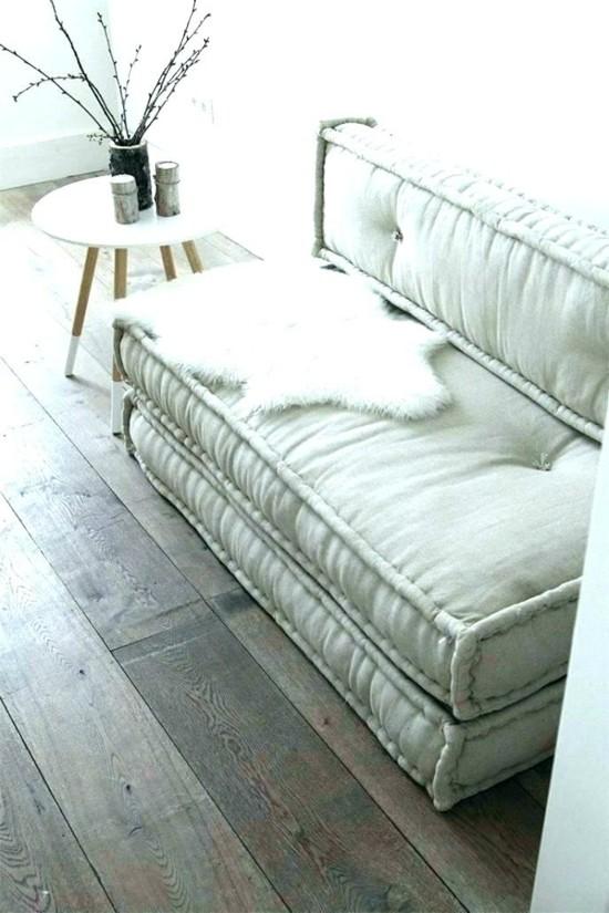 sofa made of floor cushions mattresses