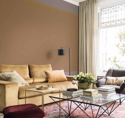 50 Wandfarben Ideen fürs Wohnzimmer nach den neuesten Trends ...