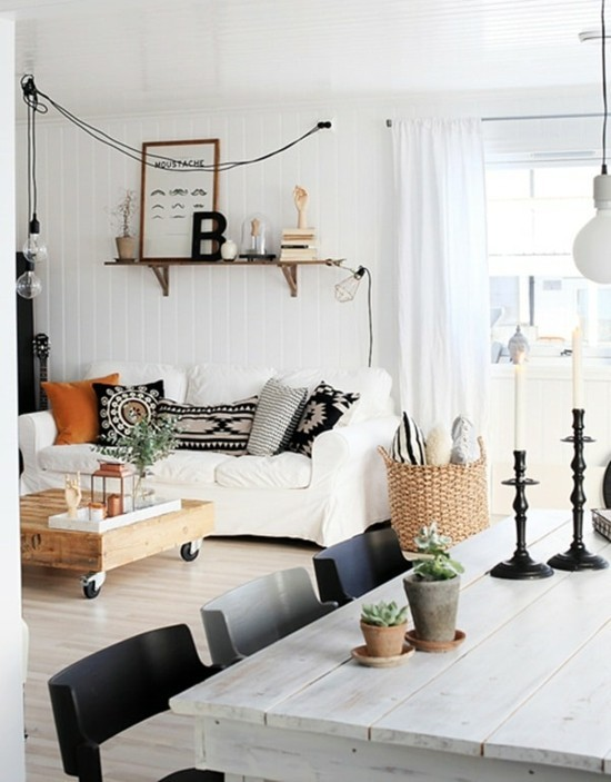 great decorating ideas in the scandi boho style