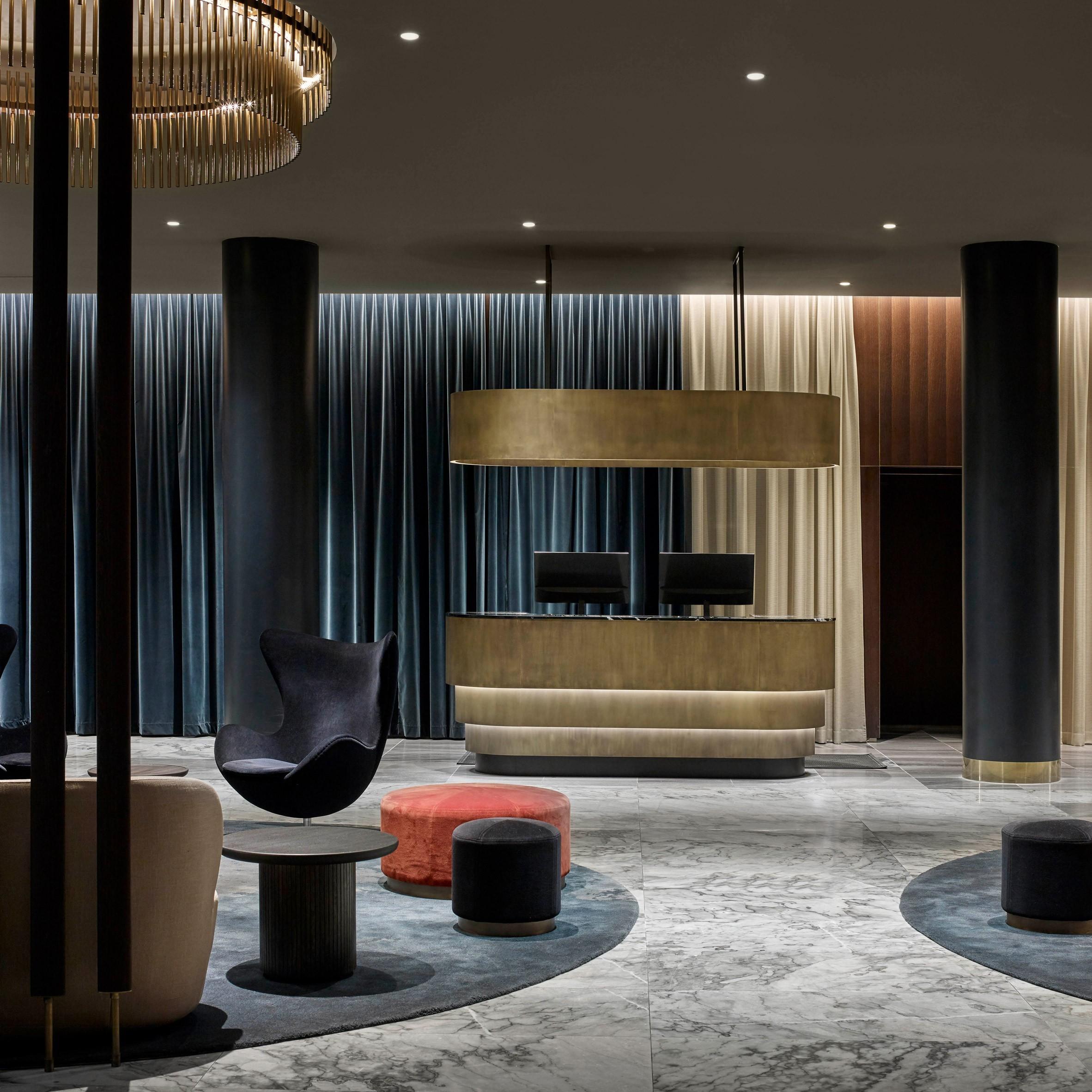 tolle gardinen ideen luxushotels