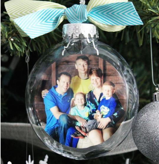 tolle weihnachtskugel foto geschenke