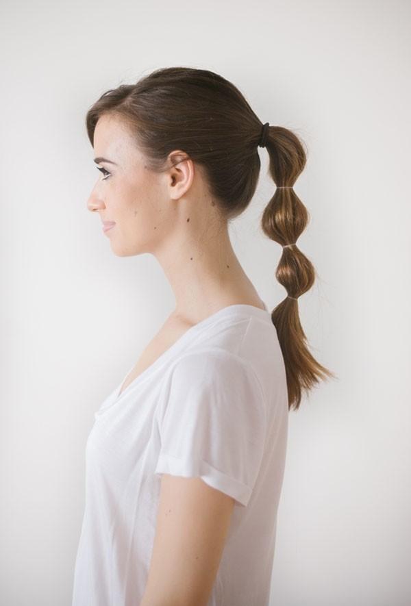 toller lockiger zopf schöne frisuren