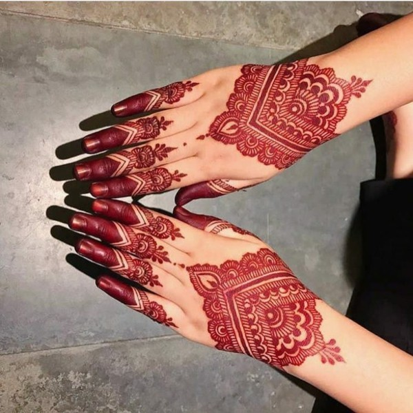 traditionelle indische tattoo ideen henna