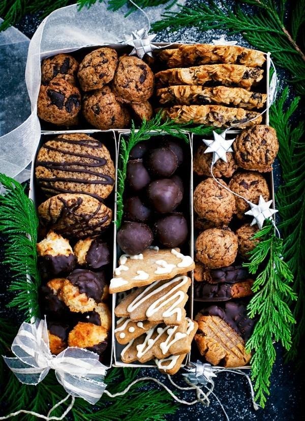 vegane plätzchen schön verpacken weihnachtsgeschenkideen
