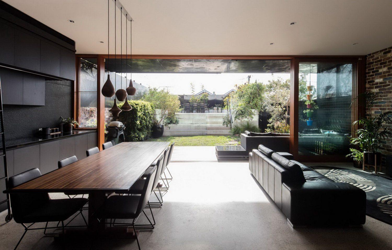 viele verschiedene sitzflächen moderne inneneinrichtung