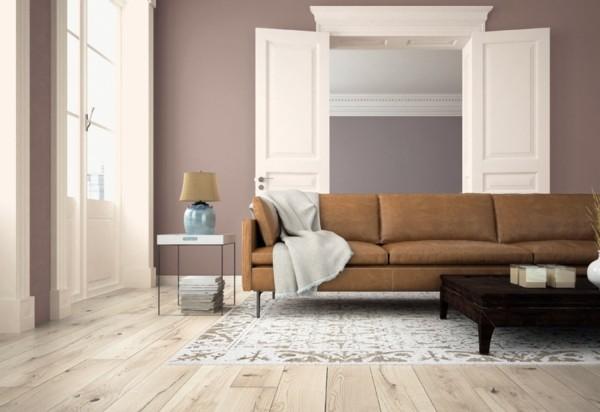 wandfarben ideen wohnzimmer dulux heart wood