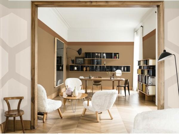 wandfarben ideen wohnzimmer dulux spiced honey