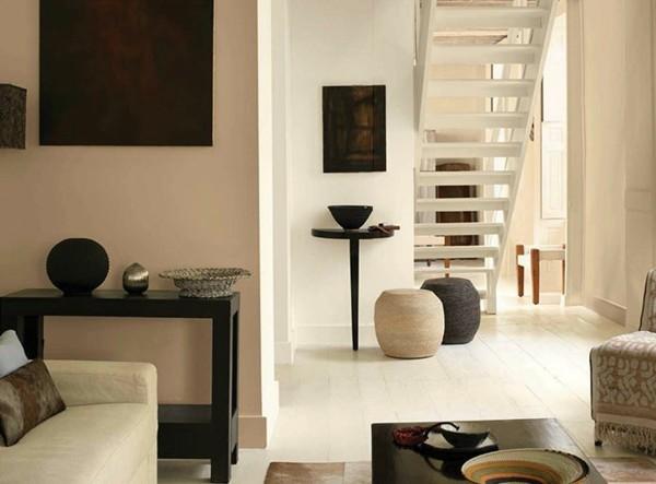 wandfarben ideen wohnzimmer flur