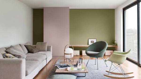 wandfarben ideen wohnzimmer skandinavisch einrichten