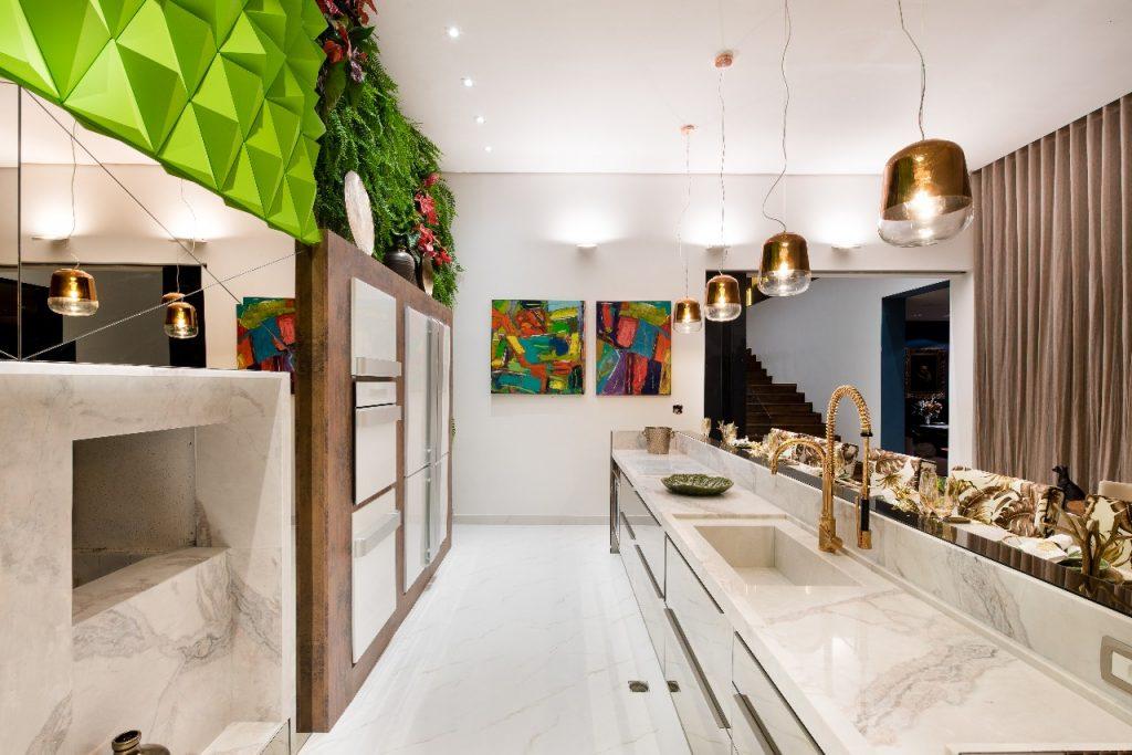 weiße arbteistflächen Küchentrends