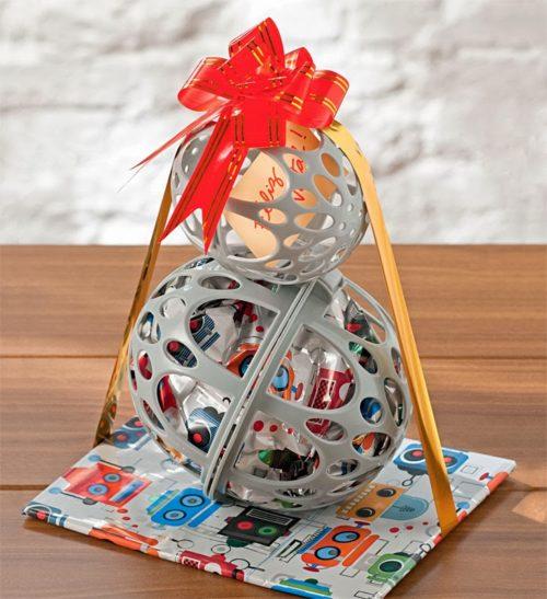 weihnachtsgeschenke basteln aus kidnereiern