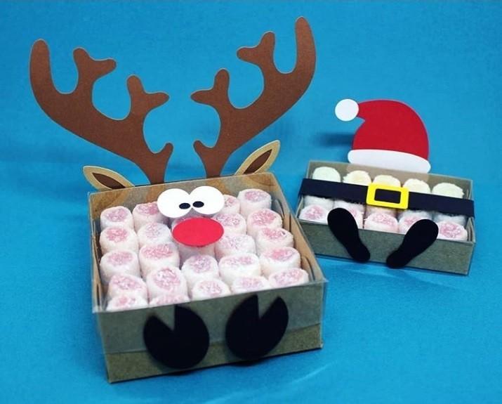 weihnachtsgeschenke basteln süßes zeug