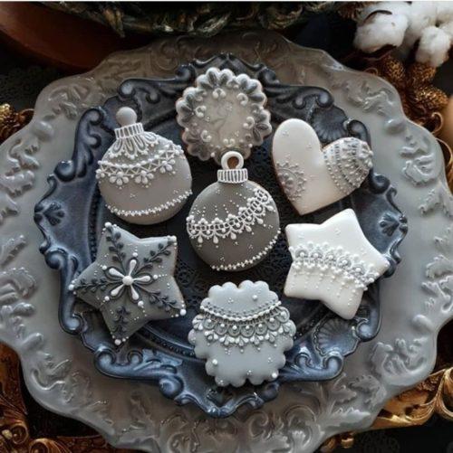 weihnachtsgeschenke basteln teller mit süßigkeiten