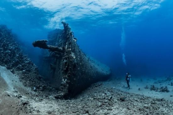 "2018 Ocean Art Contest Fabrice Dudenhofer ""Million Hope Shipwreck"", The Million Hope - Das größte Schiffswrack des Roten Meeres"
