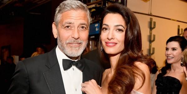 Amal und George Clooney Liebe und positive Lebenseinstellung