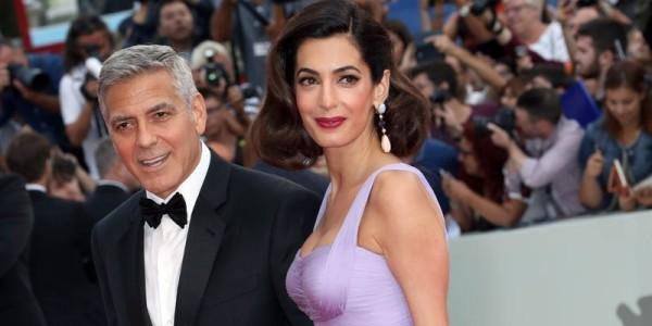 Amal und George Clooney Top Prominiente überall gern gesehen