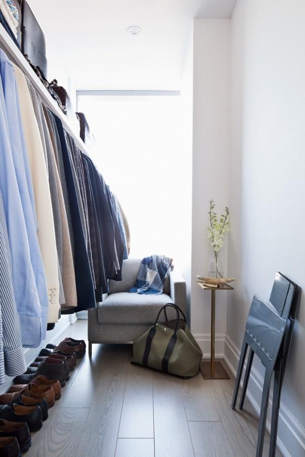Begehbarer Kleiderschrank für den Mann sein ganz persönliches Territorium