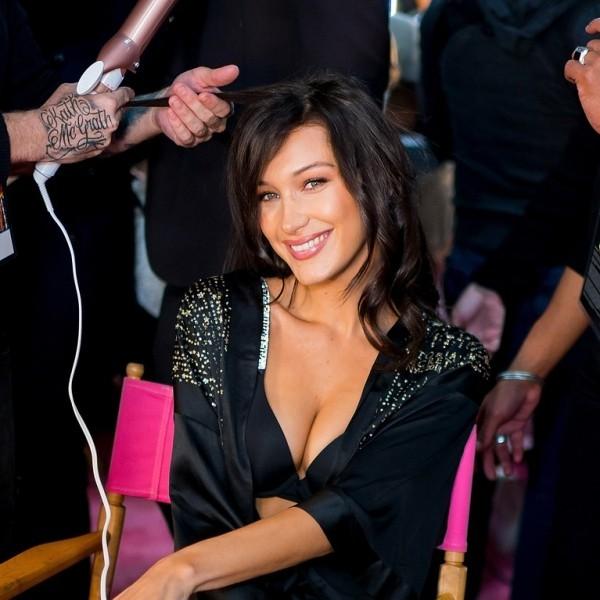 Bella Hadid Top Model ständig von Journalisten und Fans umgeben