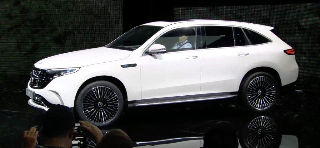 Elektroauto übersicht idee Mercedes EQC