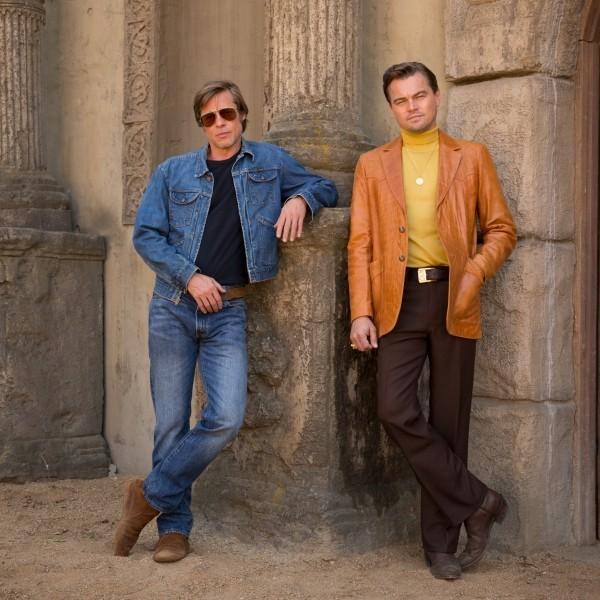 """Filme 2019 Brad Pitt und Leo DiCaprio in der neuen Filmproduktion """"Once Upon a Time in Hollywood"""""""