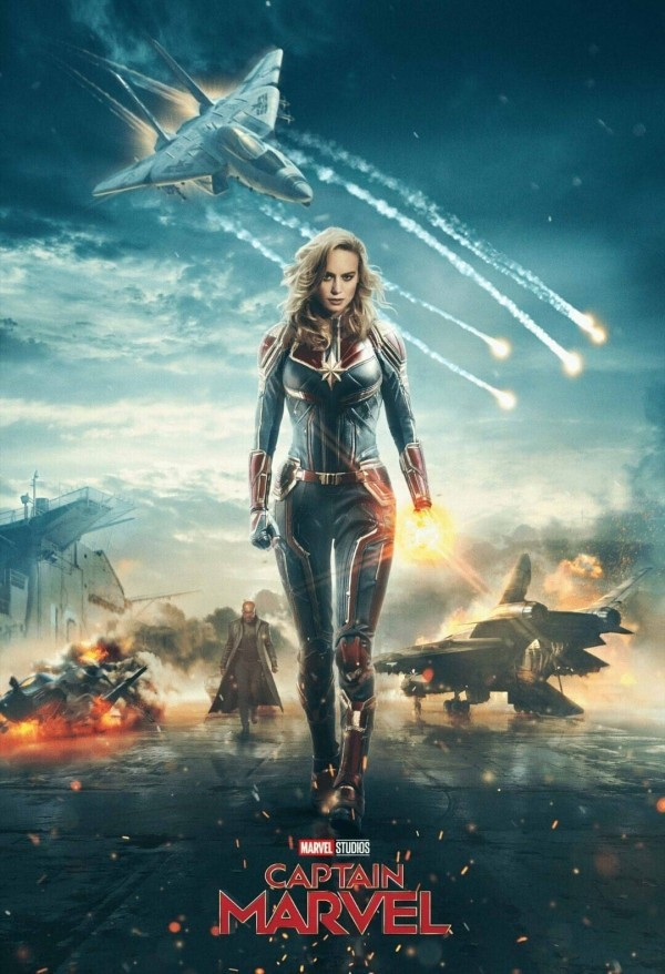 Filme 2019 Oscarpreisträgerin Brie Larson in Captain Marvel