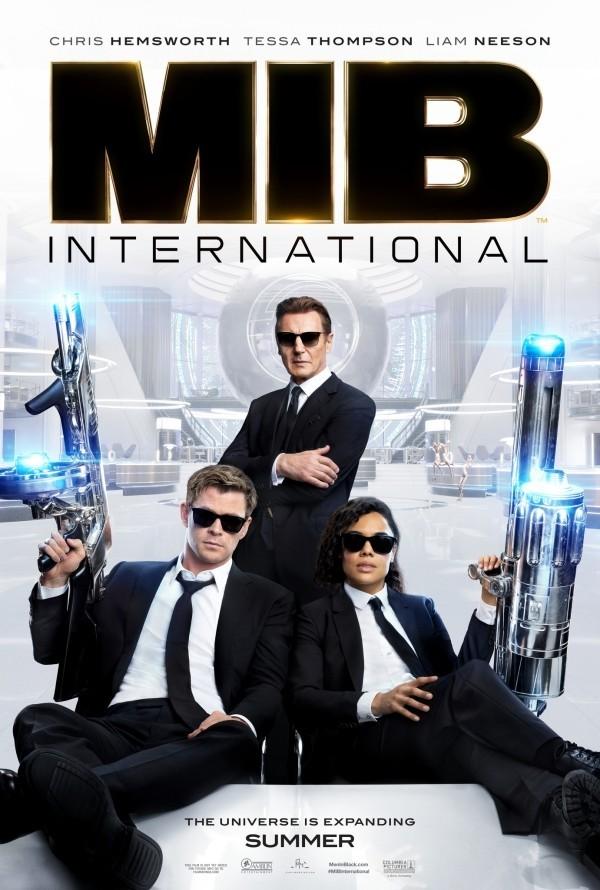 """Filme 2019 Tessa Thompson und Chris Hemsworth in """"Men in black"""""""
