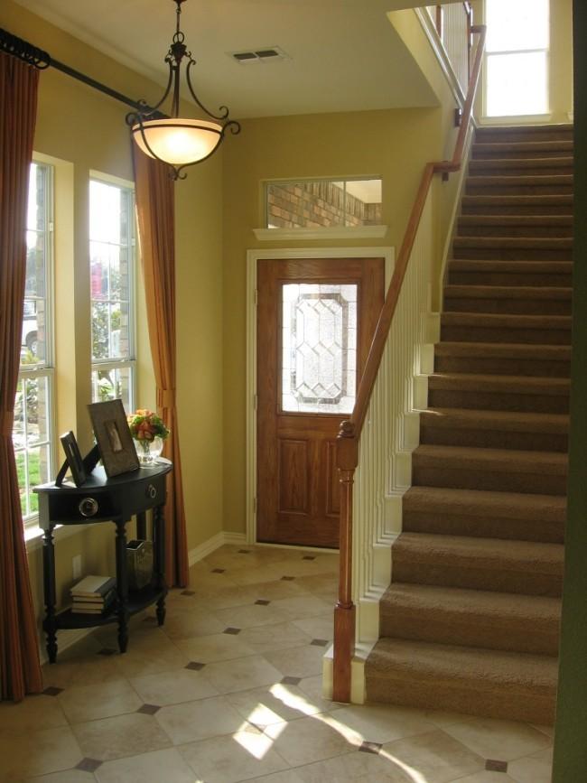 Flurgestaltung schöne gerade Treppe