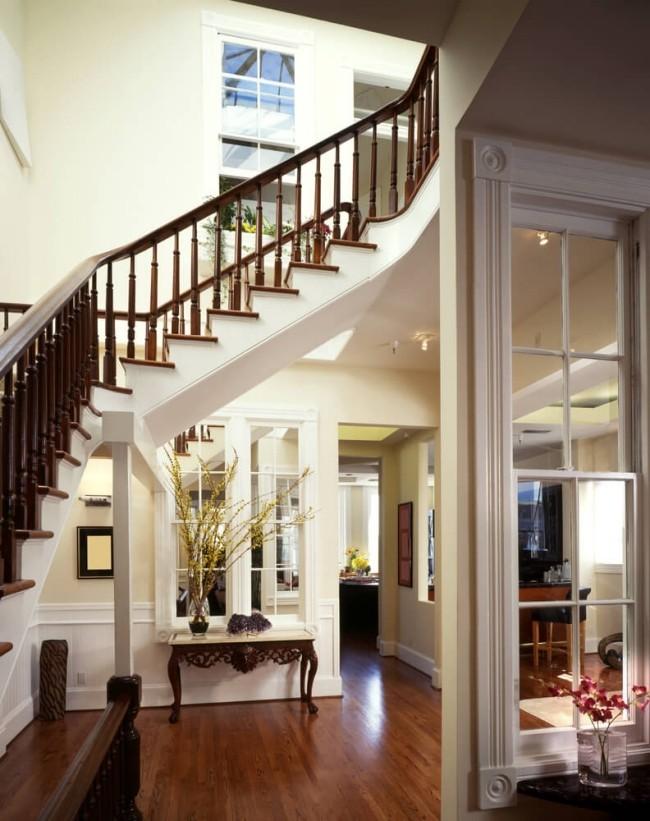 Flurgestaltung tolles haus mit einer treppe