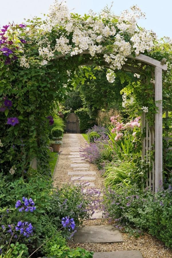 Gartengestaltung Ideen duftende Blüten
