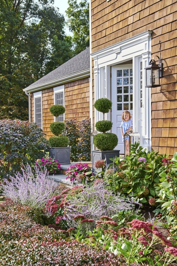 Gartengestaltung Ideen es grünt und blüht draußen