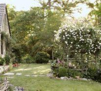 Klassische und ländliche Gestaltungsideen für Ihren Außenbereich