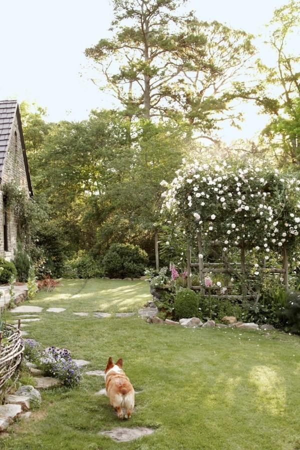 Gartengestaltung Ideen schöner Außenbereich
