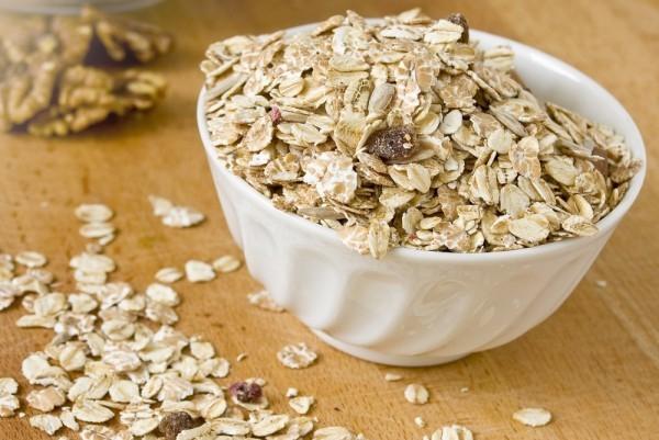 Gesunde Kohlenhydrate gesundes Frühstück Haferflocken