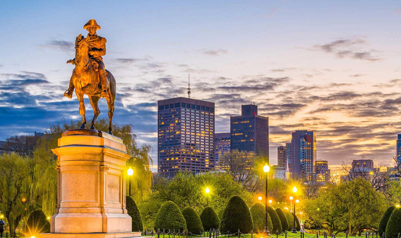 High-Tech Städte der Welt Boston Sitz von General Electric