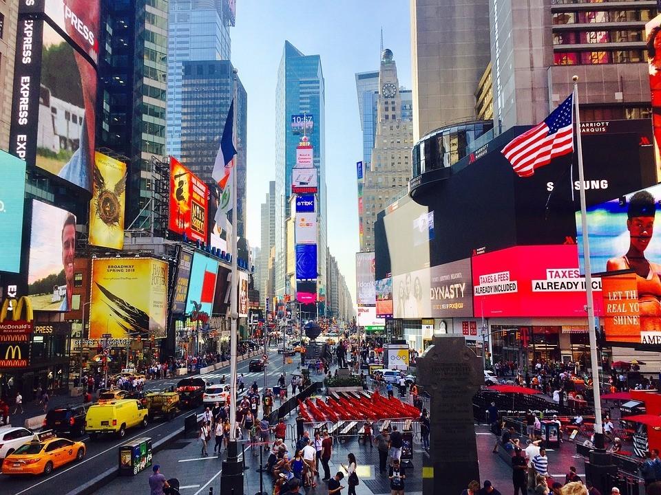 High-Tech Städte der Welt New York die Stadt die niemals schläft