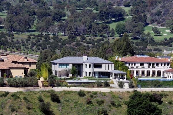 Kim Kardashian West Kanye West toskanische Villa in Bel-Air LA