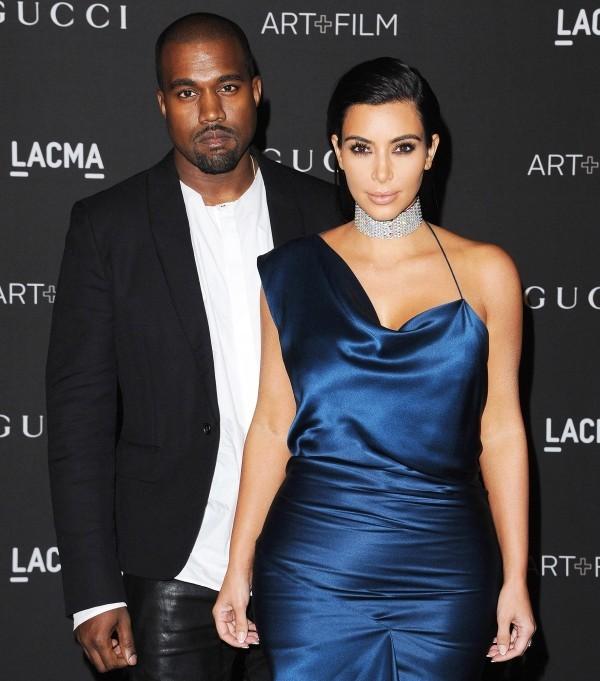 Kim Kardashian und Kanye West top outfit