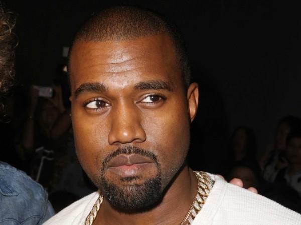 Kim Kardashians mann Kanye West im Bild