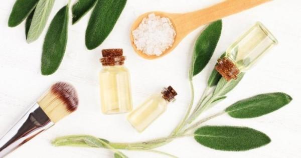 Kräuter gegen Husten Salbei Blätter Extrakt und Badesalz in Kosmetik Gesundheitspflege einsetzbar