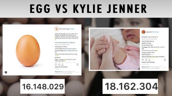 Kylie Jenner im Kampf auf Instagram