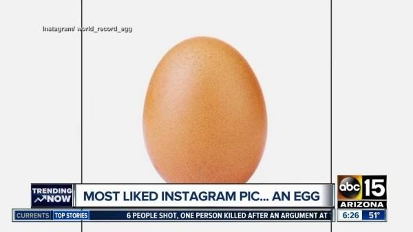 Kylie Jenner mit weniger Likes als ein Ei