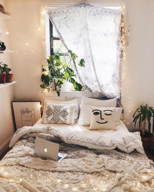 Natur ins Haus holen Grünpflanzen im Schlafzimmer