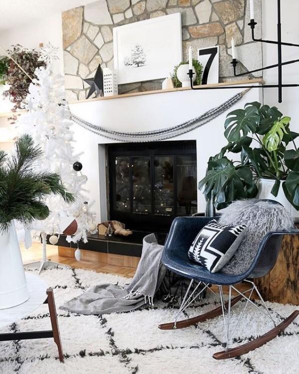 Natur ins Haus holen ideen mit Naturelementen dekorieren